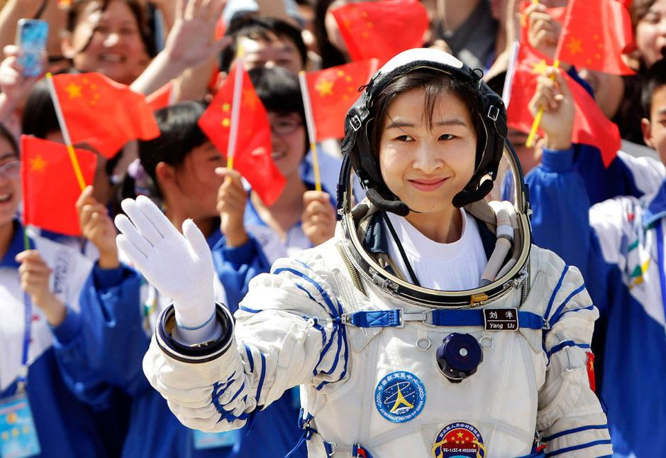 Chinese female astronaut