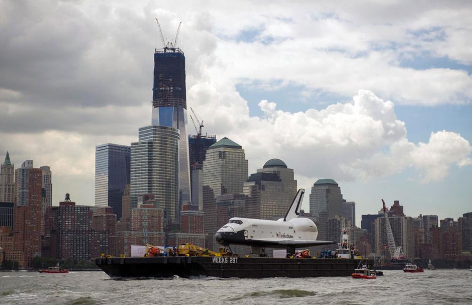 Sending space shuttle to museum